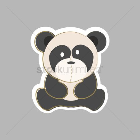 Teddy bear : Panda bear