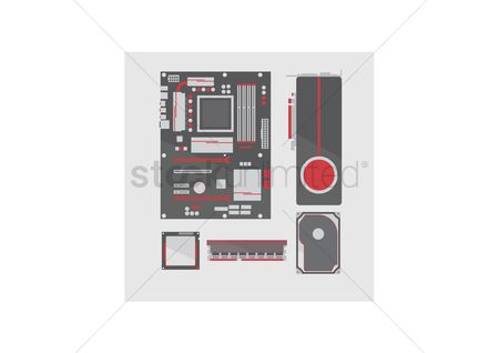 Cpu : Parts of computer