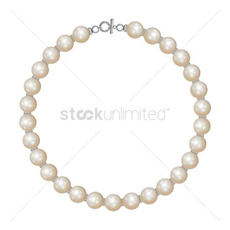 Jewelleries : Pearl necklace
