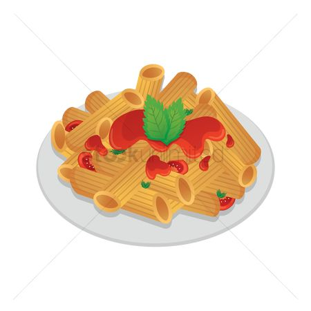 Toppings : Penne pasta