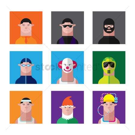 Clowns : People collection