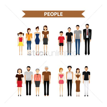Character : People collection