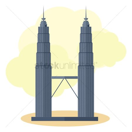 Skyscraper : Petronas twin towers