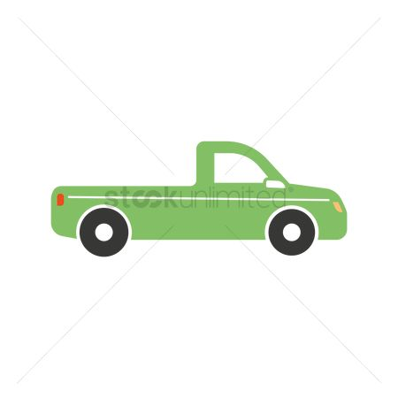 Pick up : Pickup truck icon