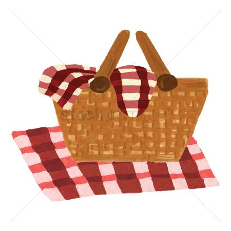 Cloth : Picnic basket
