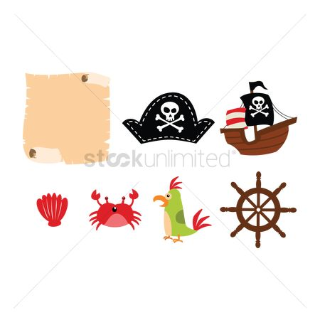 Crabs : Pirate icons