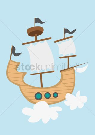 Sail : Pirate ship