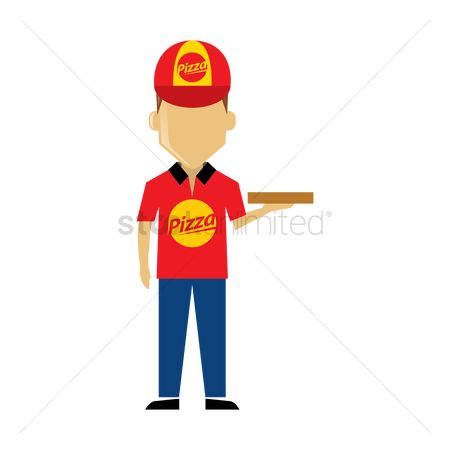 Pizza delivery : Pizza delivery boy
