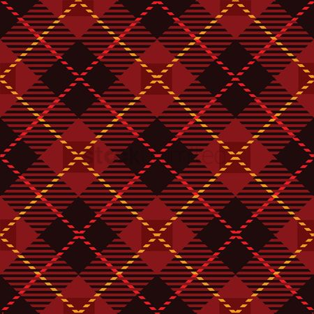 Cloth : Plaid design background
