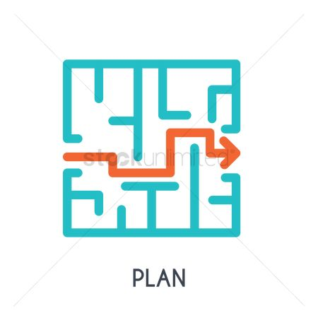 Business strategy : Plan concept