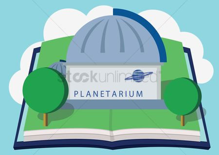 Museums : Planetarium in book