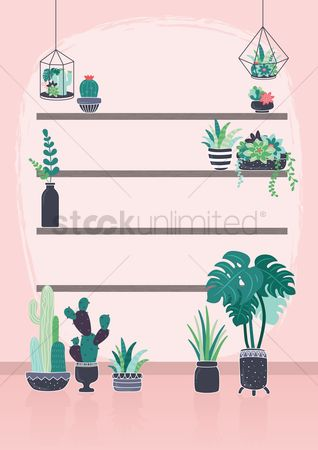 Flower pot : Plant nursery design