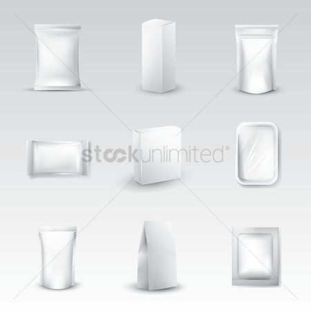 Products : Plastic pack icons