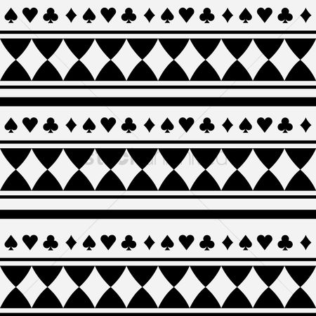Spade : Playing cards background