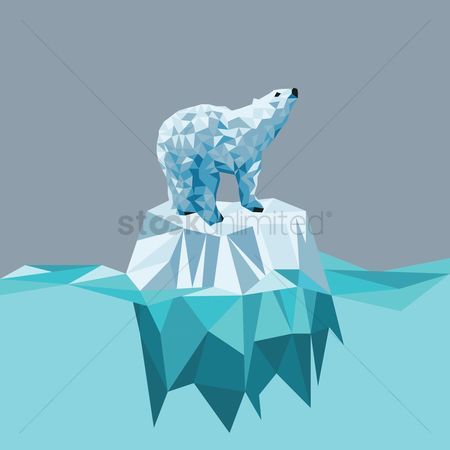 Gradients : Polar bear