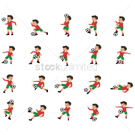 Recreation : Portugal football players