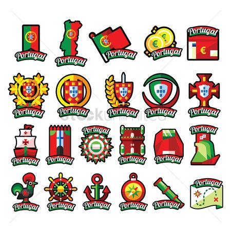 Soccer : Portugal icons