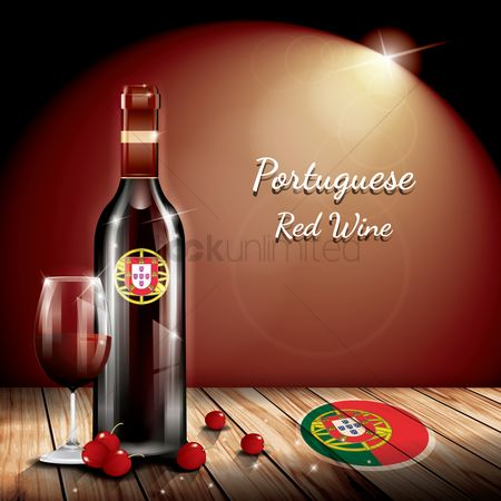 Fruit : Portuguese red wine
