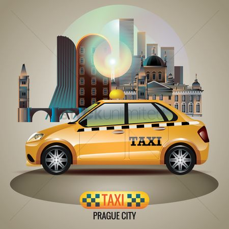 Taxis : Prague city taxi