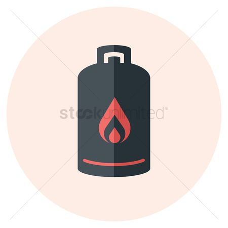 Gases : Propane cylinder