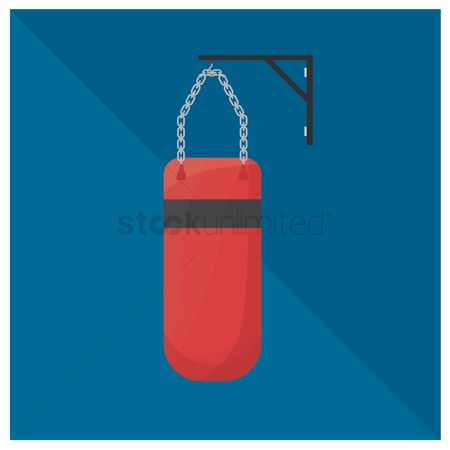 Strength exercise : Punching bag