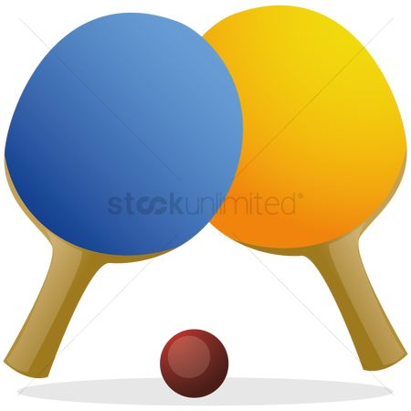 Paddle : Racket with ball