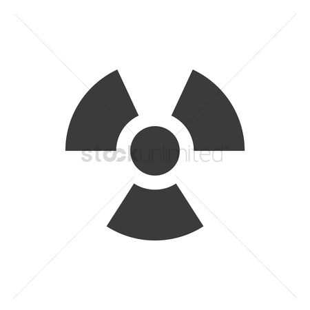 Caution : Radioactive symbol