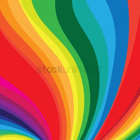 Flow : Rainbow flow background