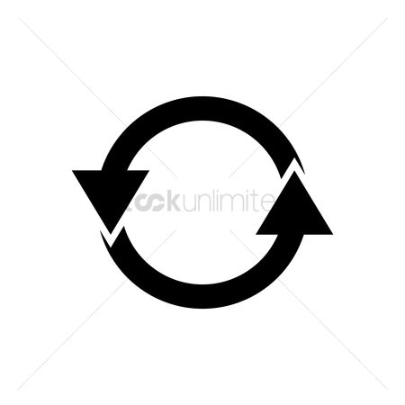 Refresh : Recycle symbol