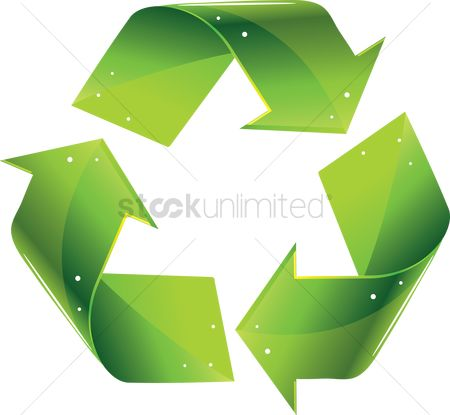 Energy : Recycling symbol