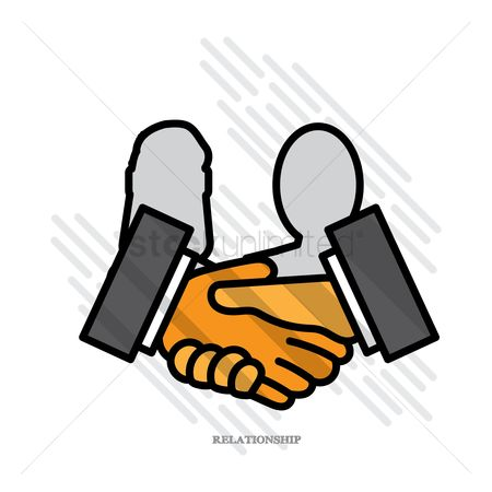 Business deal : Relationship concept