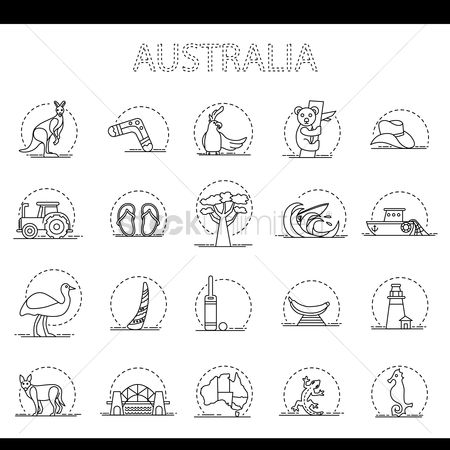Lighthouses : Representation of australia