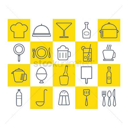 Beer mug : Restaurant icons