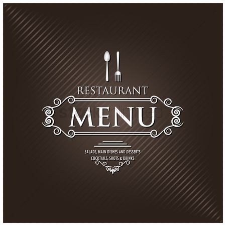Dishes : Restaurant menu design