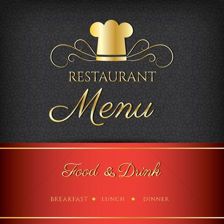 Dinner : Restaurant menu design