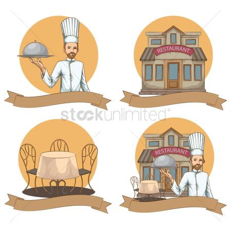 Serve : Restaurant theme set