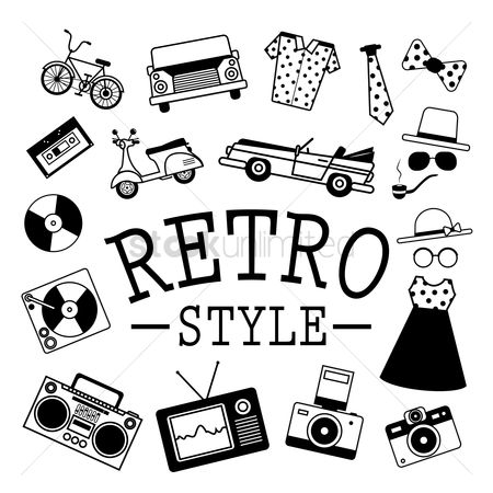 Clothings : Retro style