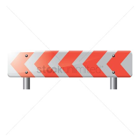 Attention : Road barrier
