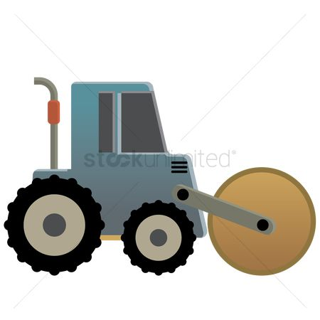 Machineries : Road roller