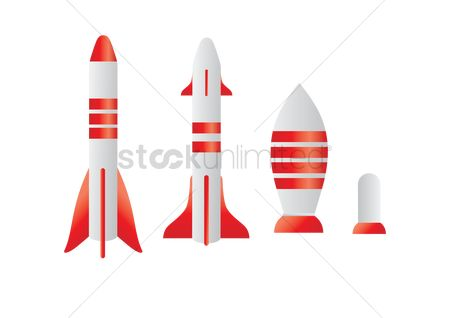 Spaceships : Rocket missiles