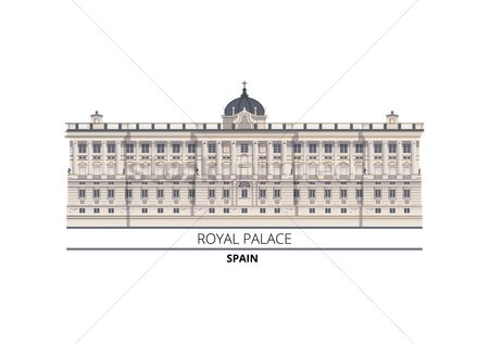 Royal : Royal palace spain