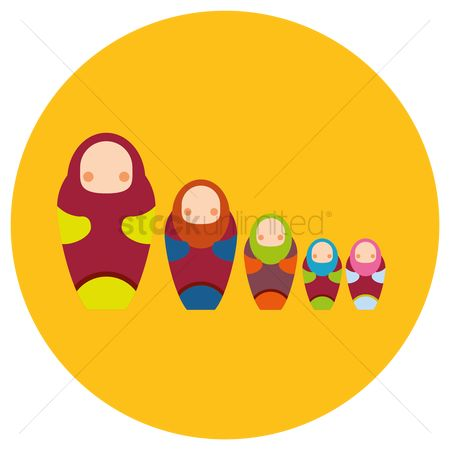 Dolls : Russian nesting doll