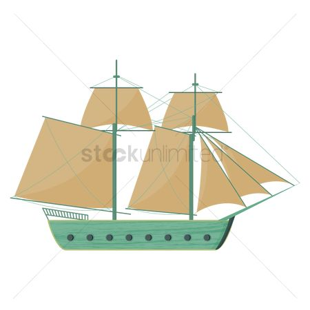 Sail : Sailing ship