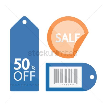 Retails : Sale discount and special offer tags