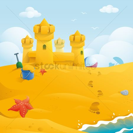 Towers : Sand castle