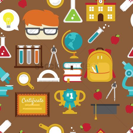 Smart : School theme background