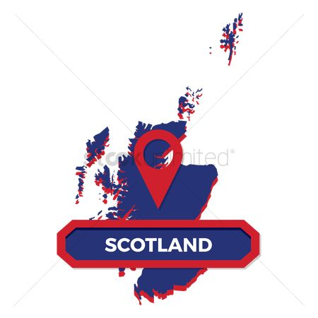 Map pin : Scotland