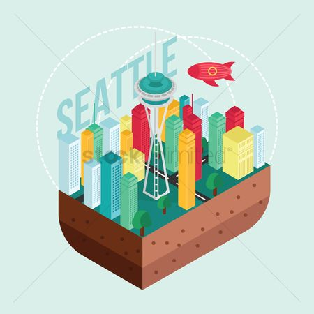 United states : Seattle city