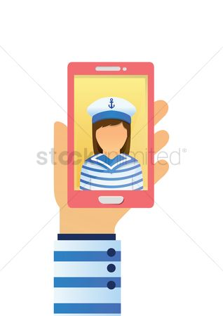 Sailors : Selfie of a sailor