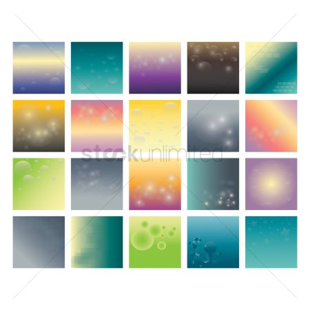 Patterns : Set of abstract backgrounds